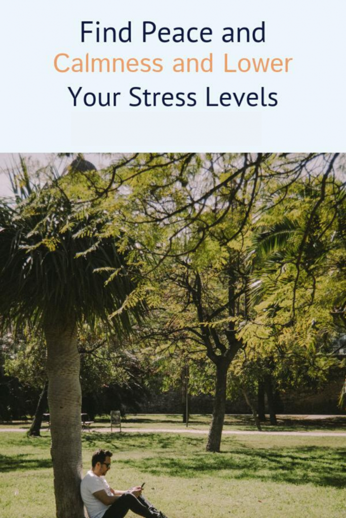 Lower Your Stress Levels